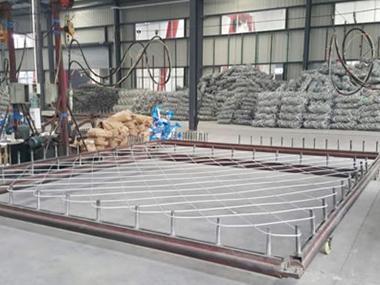 锌钢护栏生产车间