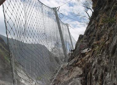 北京柔性云南边坡防护网