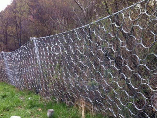 环形边坡防护网案例