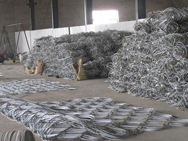 边坡防护网生产车间